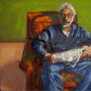 Jon (reading at Stratton), collection of Victoria Jeffries