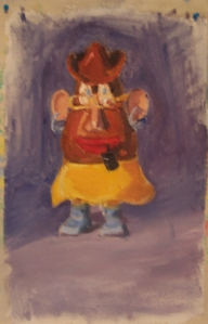 Mr. Potato Head, in honor of George Lerner, inventor, collection of the Sargoy family