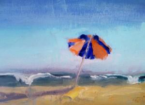 umbrella at ponquogue