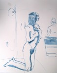 "17 Feb 2011, nude sketch3, reed p&I, hot pressed paper, 11x14""_1"