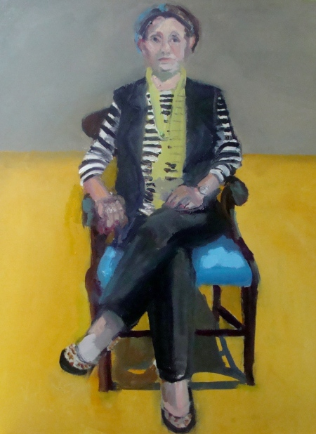 marcia, dec 12, 16 x 21%22, oil on mdf board